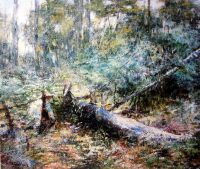 Frederick McCubbin At Macedon Oil on canvas 51.8 x 61.2 cm